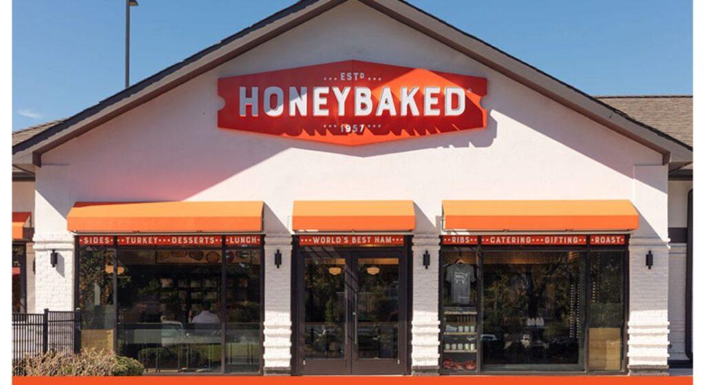 Honey baked Ham and Cafe